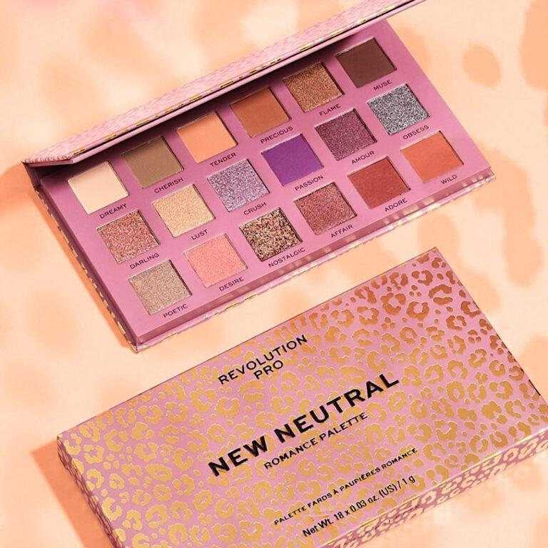 Revolution Pro New Neutral Eyeshadow Palette Romance Post Cover