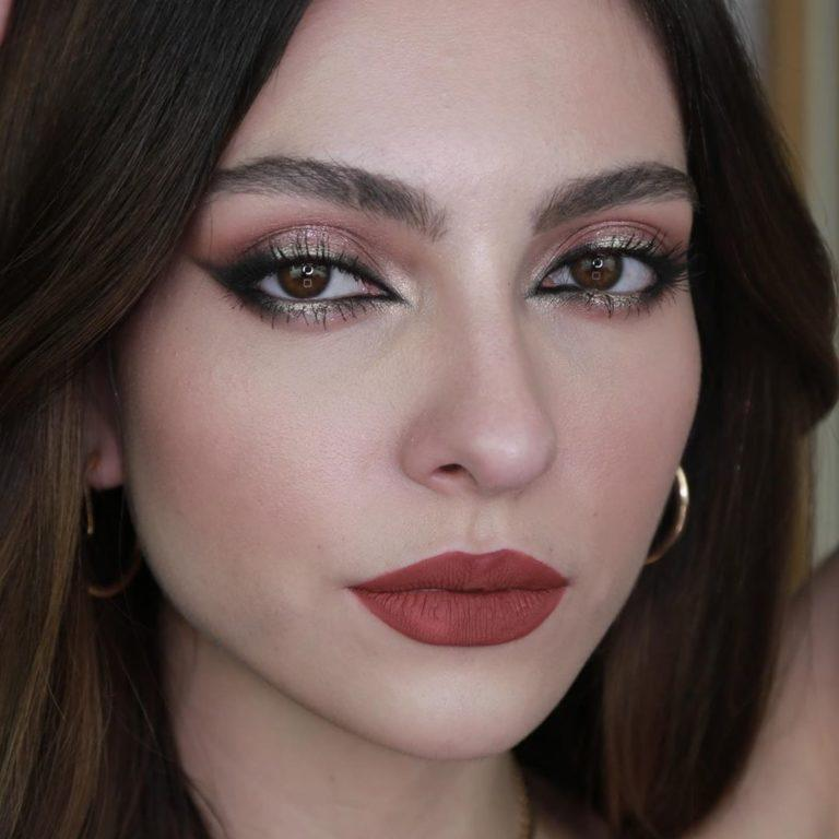 Tutorial de maquillaje para evento elegante maquillaje de Anna Sarelly en tonos oscuros