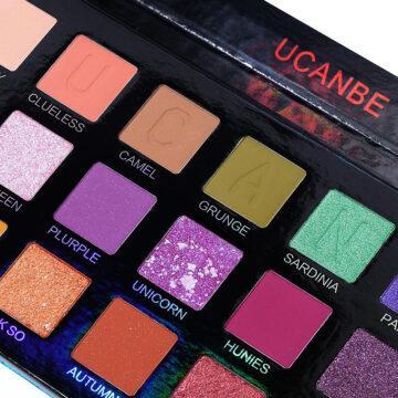 Ucanbe X Anwen Cellophane Eyeshadow Palette Close up mid