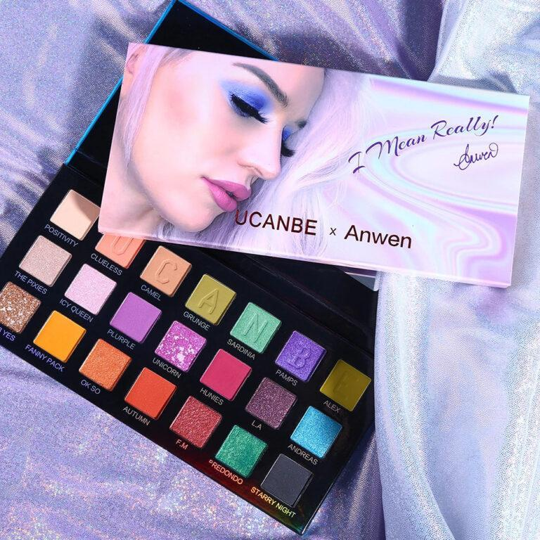 Ucanbe X Anwen Cellophane Eyeshadow Palette Post Cover