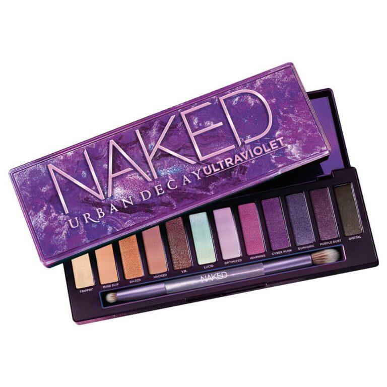 Urban Decay Naked Ultraviolet Eyeshadow Palette Web Open Angled