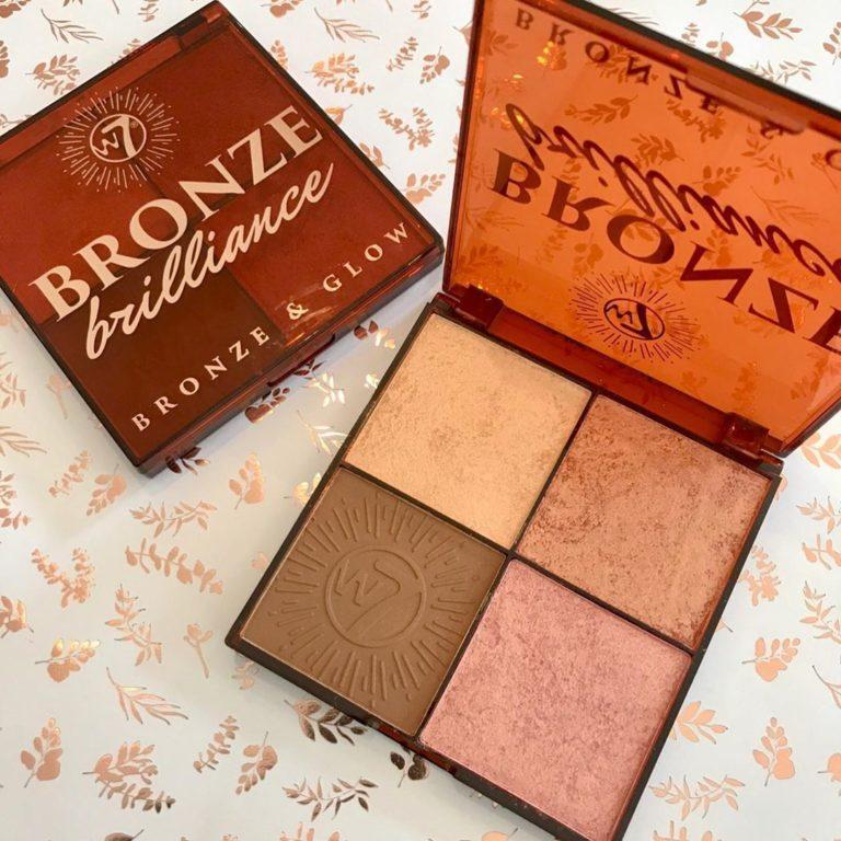 W7 Bronze Brilliance Palettes Promo