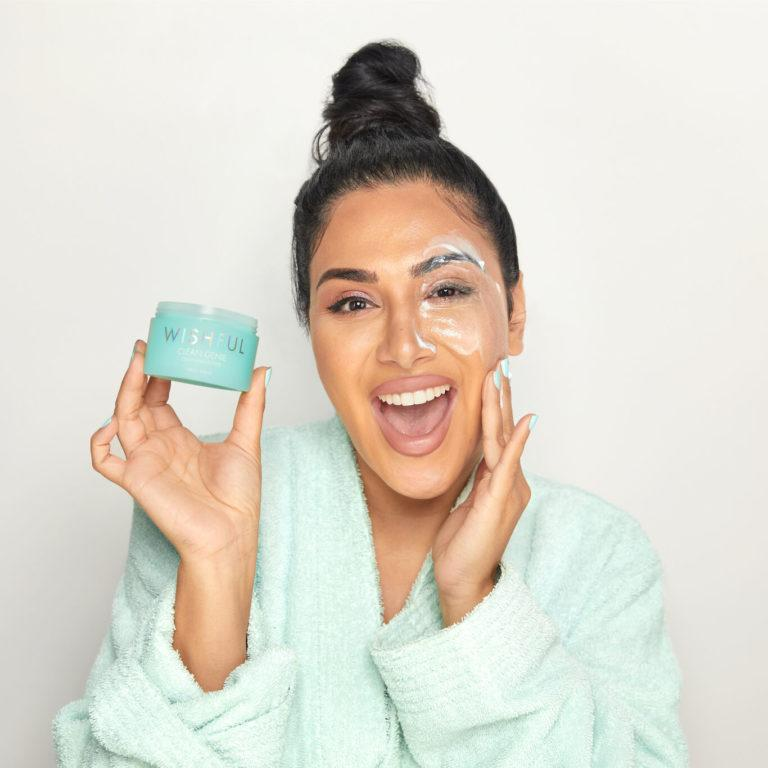 Wishful Skin Clean Genie Makeup Removing Cleansing Balm Huda Promo