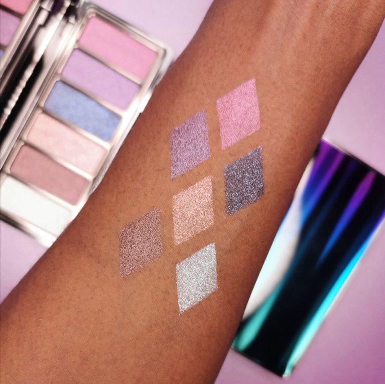 XX Revolution Chameleon Shimmer Eyeshadow Palette Arm Swatches