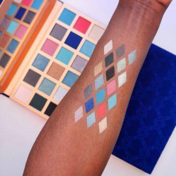XX Revolution LuXX Eyeshadow Palette VorteXX Arm Swatches