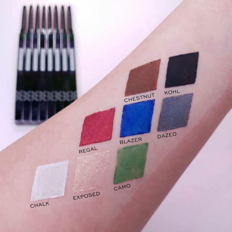 XX Revolution XXact Eyeliner Pencil Arm Swatches