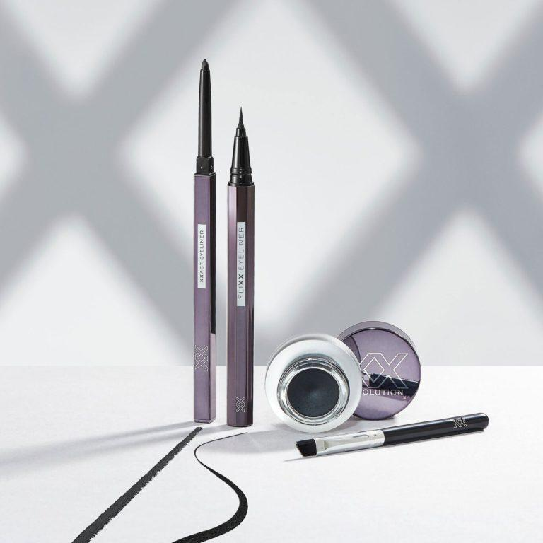 XX Revolution XXact Eyeliner Pencil, FliXX Eyeliner Pen Black & MaXX Impact Gel Eyeliner Black