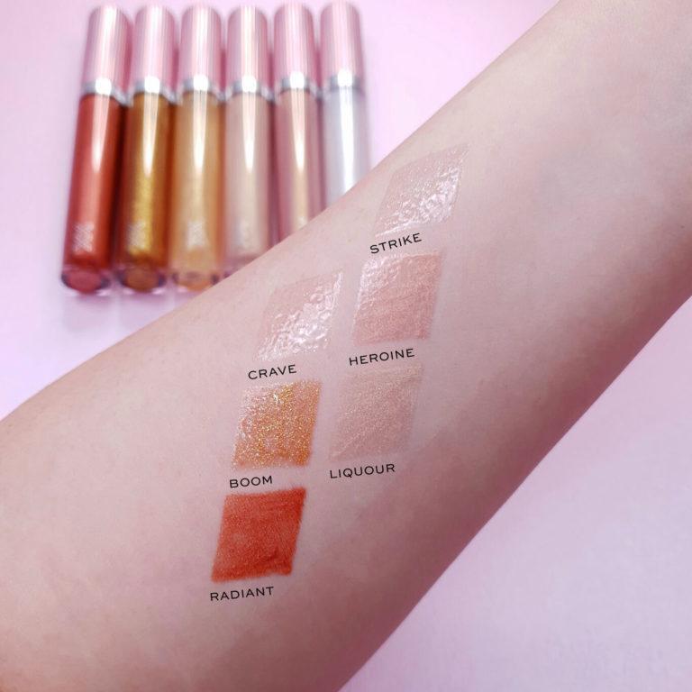 XX Revolution XXtra Glow Lip Gloss Arm Swatch