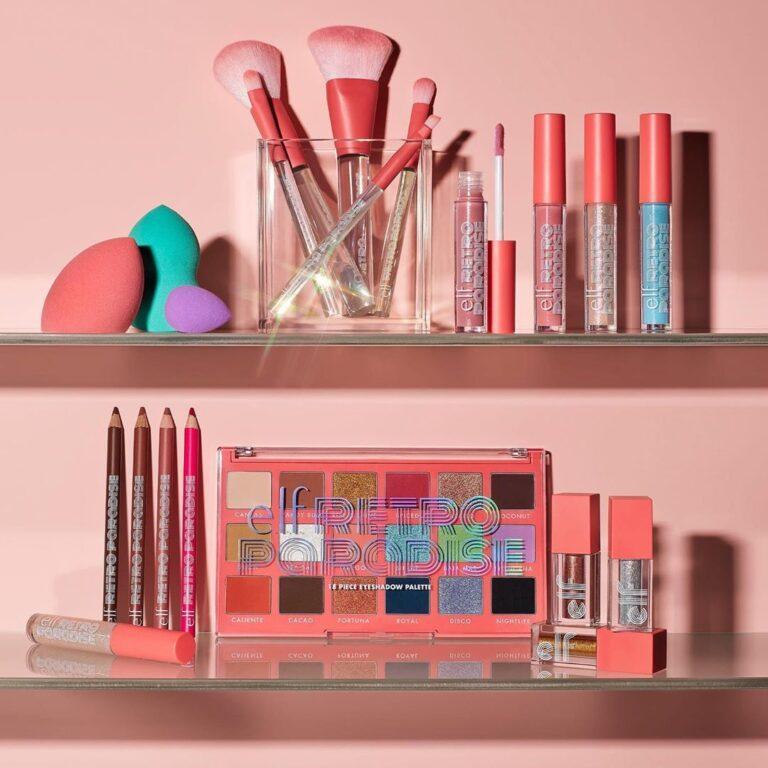 e.l.f. Cosmetics Colección Retro Paradise blog cover