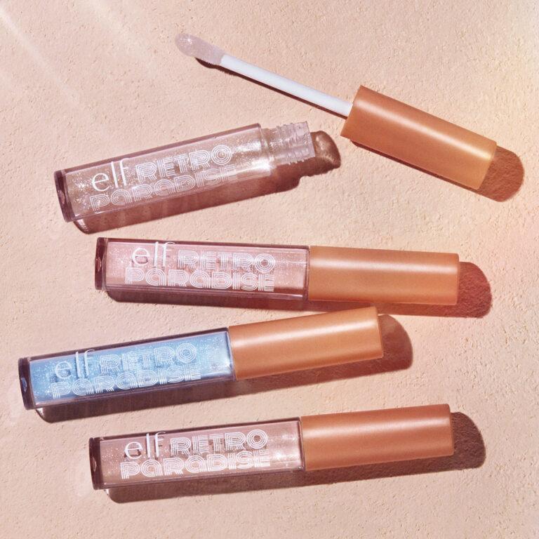 e.l.f. Cosmetics Retro Paradise Dream On Lip Gloss Promo