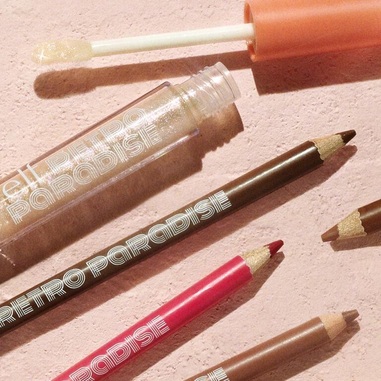 e.l.f. Cosmetics Retro Paradise Line & Shine Lip Kit Promo