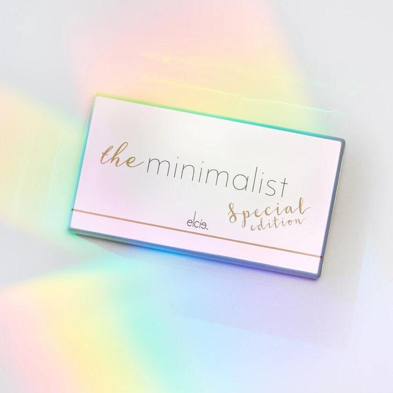 elcie Cosmetics The Minimalist Eyeshadow Palette Special Edition Closed