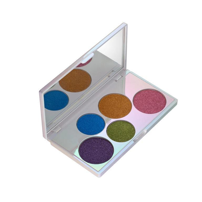 elcie Cosmetics The Minimalist Eyeshadow Palette Special Edition Open Angled