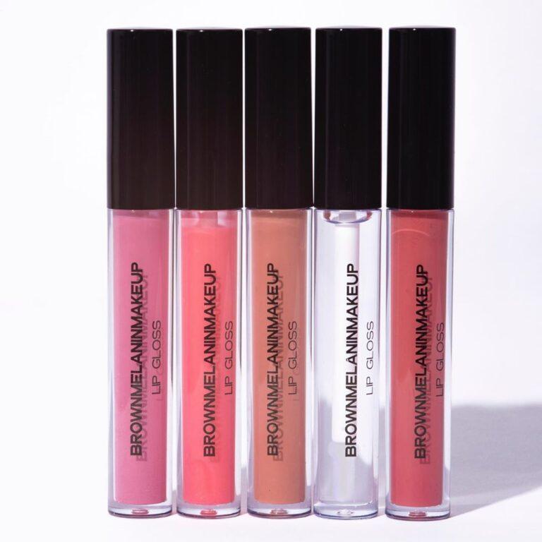 Brown Melanin Makeup Fantasy Lip Gloss