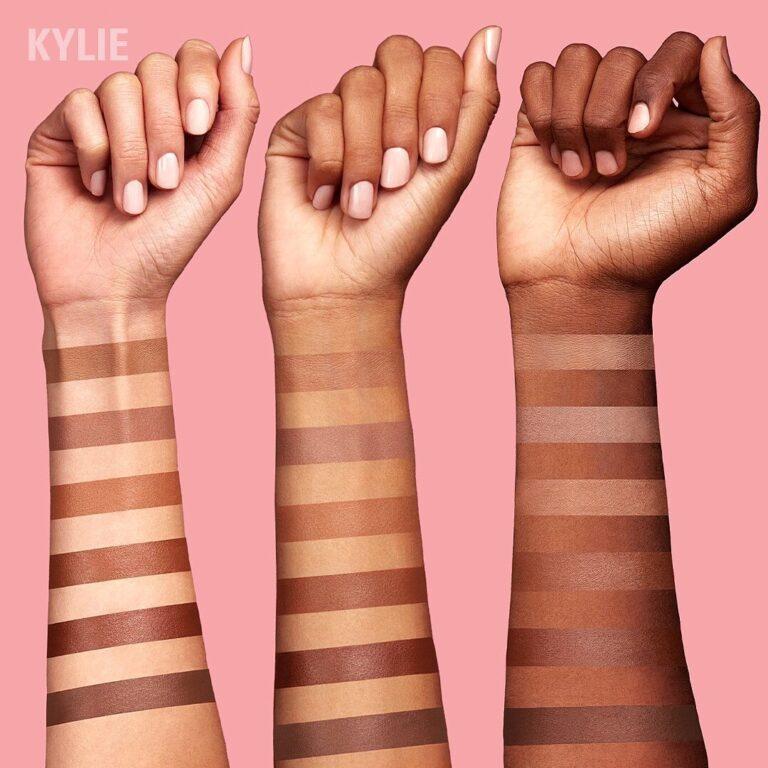 Kylie Cosmetics Bronzer Sticks Arm Swatches