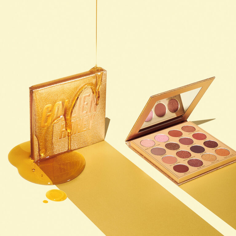 Makeup Obsession Golden Honey Eyeshadow Palette Arm Swatches Promo
