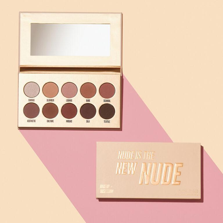 Makeup Obsession Nude Is The New Nude Eyeshadow Palette Promo