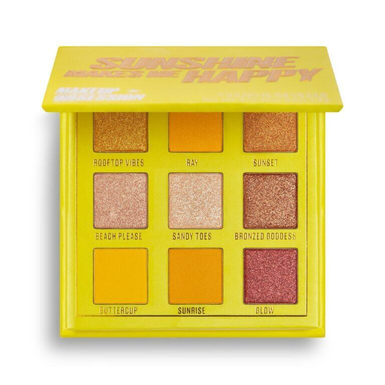 Makeup Obsession Sunshine Makes Me Happy Eyeshadow Palet