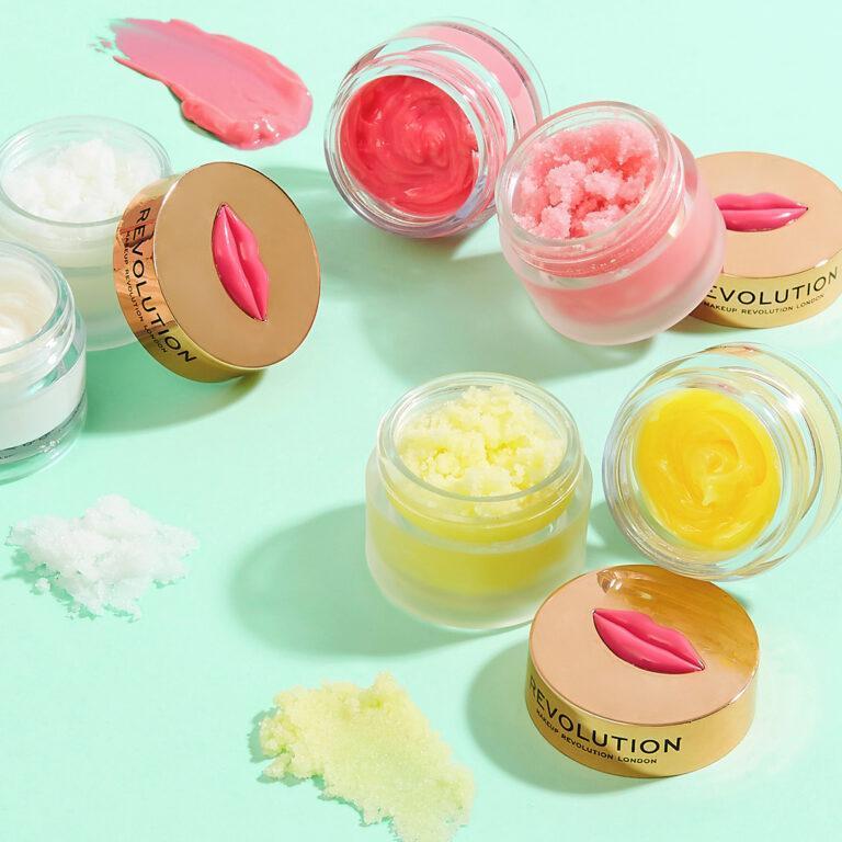 Makeup Revolution Dream Kiss Lip Balms And Sugar Kiss Lip Scrubs Post Cover