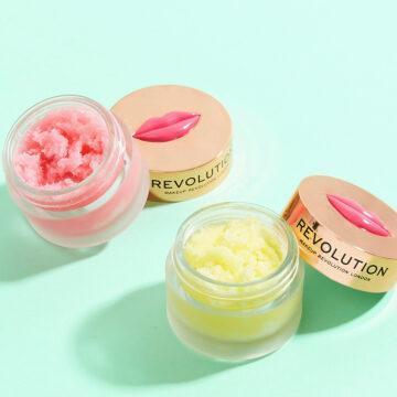 Makeup Revolution Sugar Kiss Lip Scrubs Promo