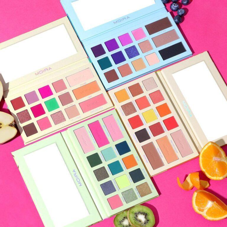 Moira Beauty Juicy Series Palettes Promo Instagram