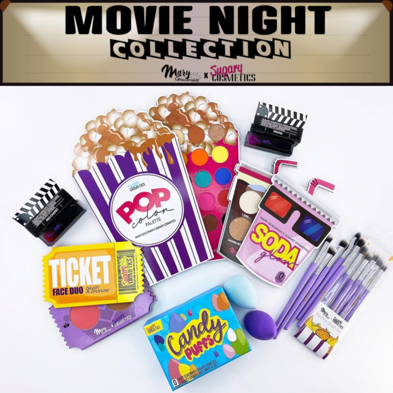 Sugary Cosmetics Movie Night Collection Post Cover