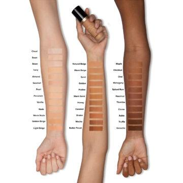 Too Faced Born This Way Matte 24 Hour Foundation Arm Swatches