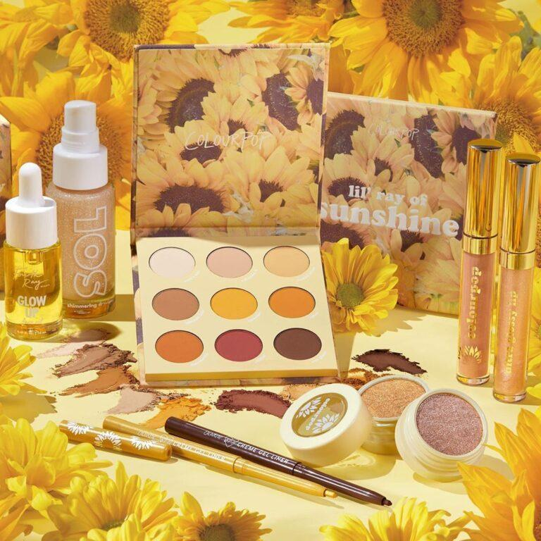 ColourPop Sunflower Collection Promo Post Cover