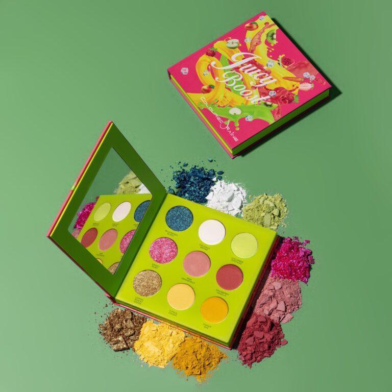Coloured Raine Juicy Boost Pressed Pigments Palette Book Version Top