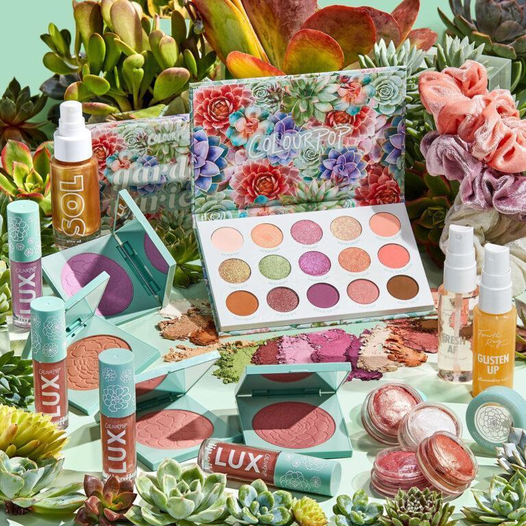Colourpop Garden Variety Collection Promo Cover
