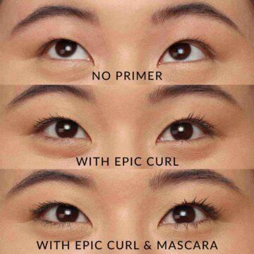 KVD Vegan Beauty Epic Curl Vegan Lash Primer Model 3