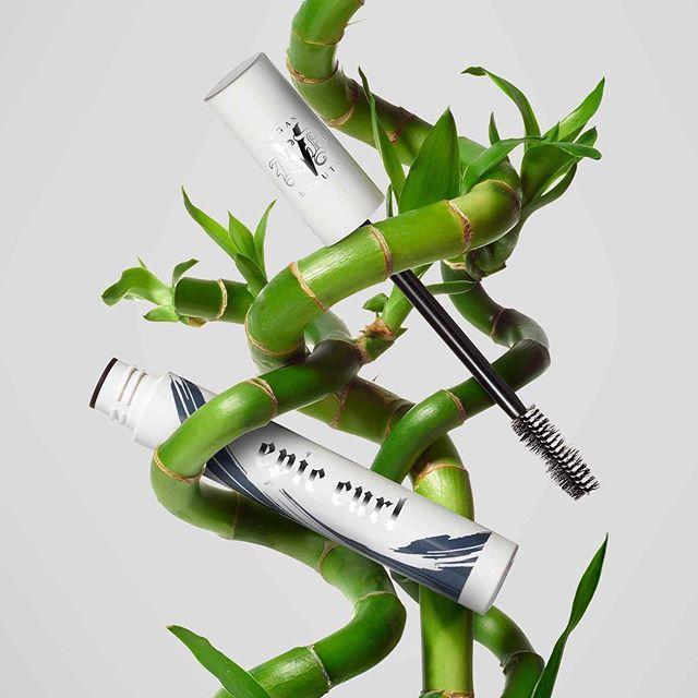 KVD Vegan Beauty Epic Curl Vegan Lash Primer Promo Branches