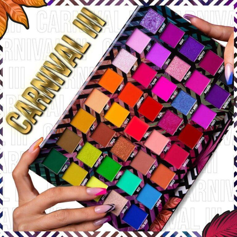 Love Tahiti Carnival Collection Volume 3 Eyeshadow Palette Open Angled Promo
