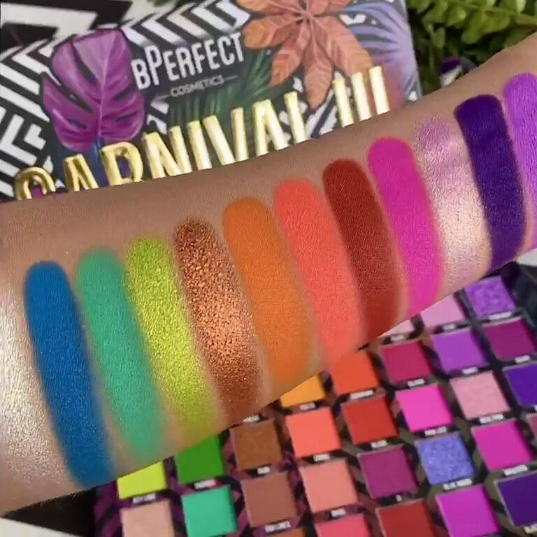 Love Tahiti Carnival Collection Volume 3 Eyeshadow Palette Video Arm Swatches