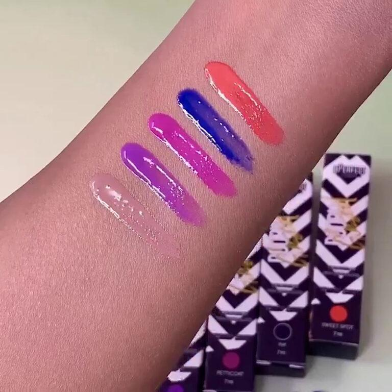 Love Tahiti Carnival Collection Volume 3 Lip Glosses Arm Swatches