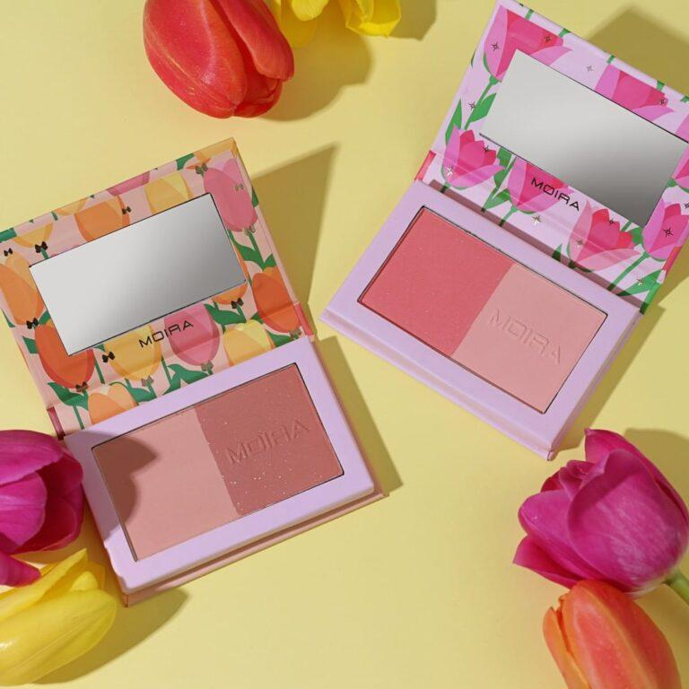 MOIRA BEAUTY New Bronzer And Blush Duos Love Recipee & Forever Bloom Dual Blushes Open Promo