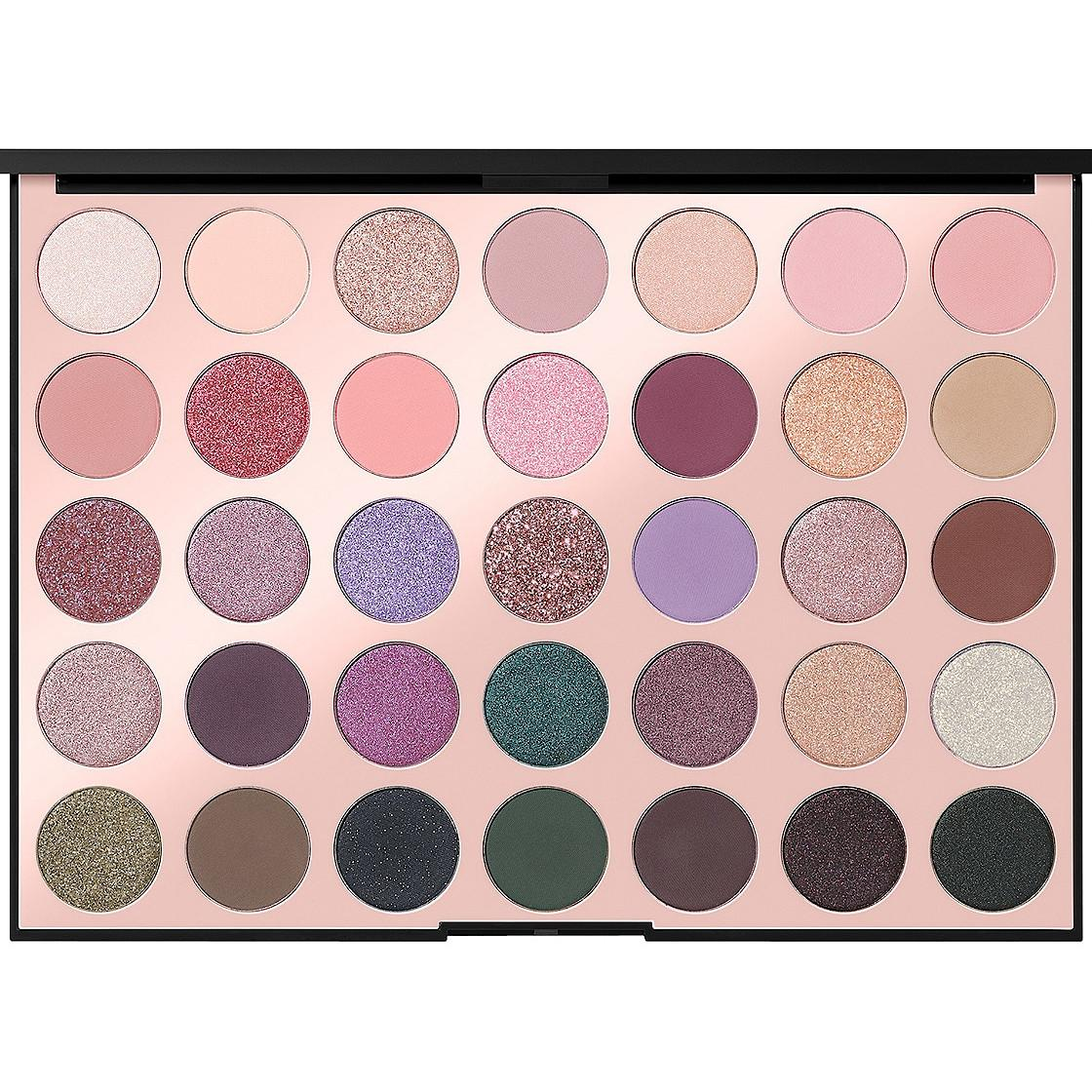 Morphe 35C Everyday Chic Artistry Palette Open Front Closer