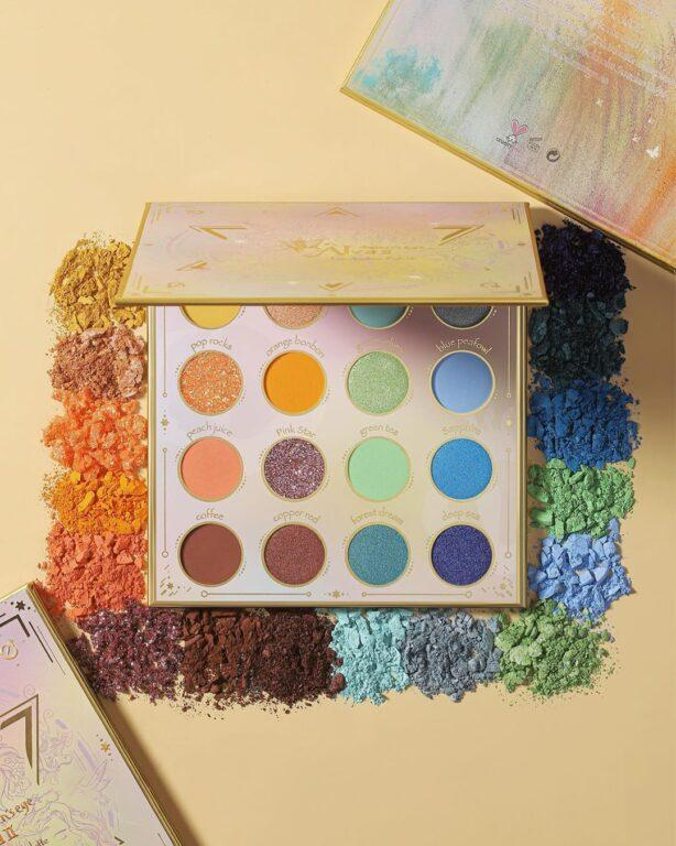 Oden's Eye Cosmetics Alva II Natural Spirits Collection Alva II Eyeshadow Palette Promo Crash Swatches Open