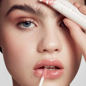 Pro Kiss'r Luscious Lip Balm In Pinch Me Model Anna