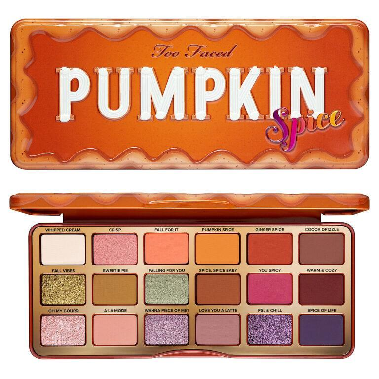 Too Faced Pumpkin Spice Eyeshadow Palette Post Cover