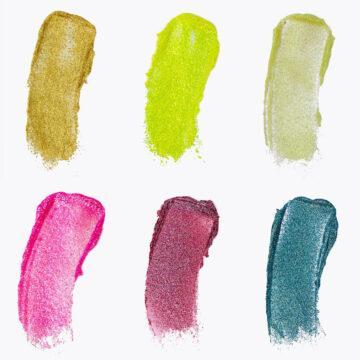 BH Cosmetics OMG Glitter! Face & Body Gel Swatches