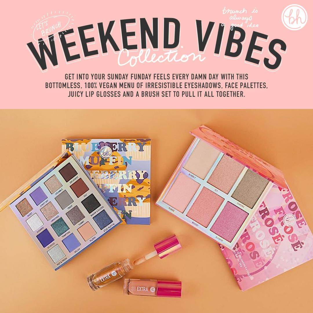 BH Cosmetics Weekend Vibes Collection New Additions Post Cover