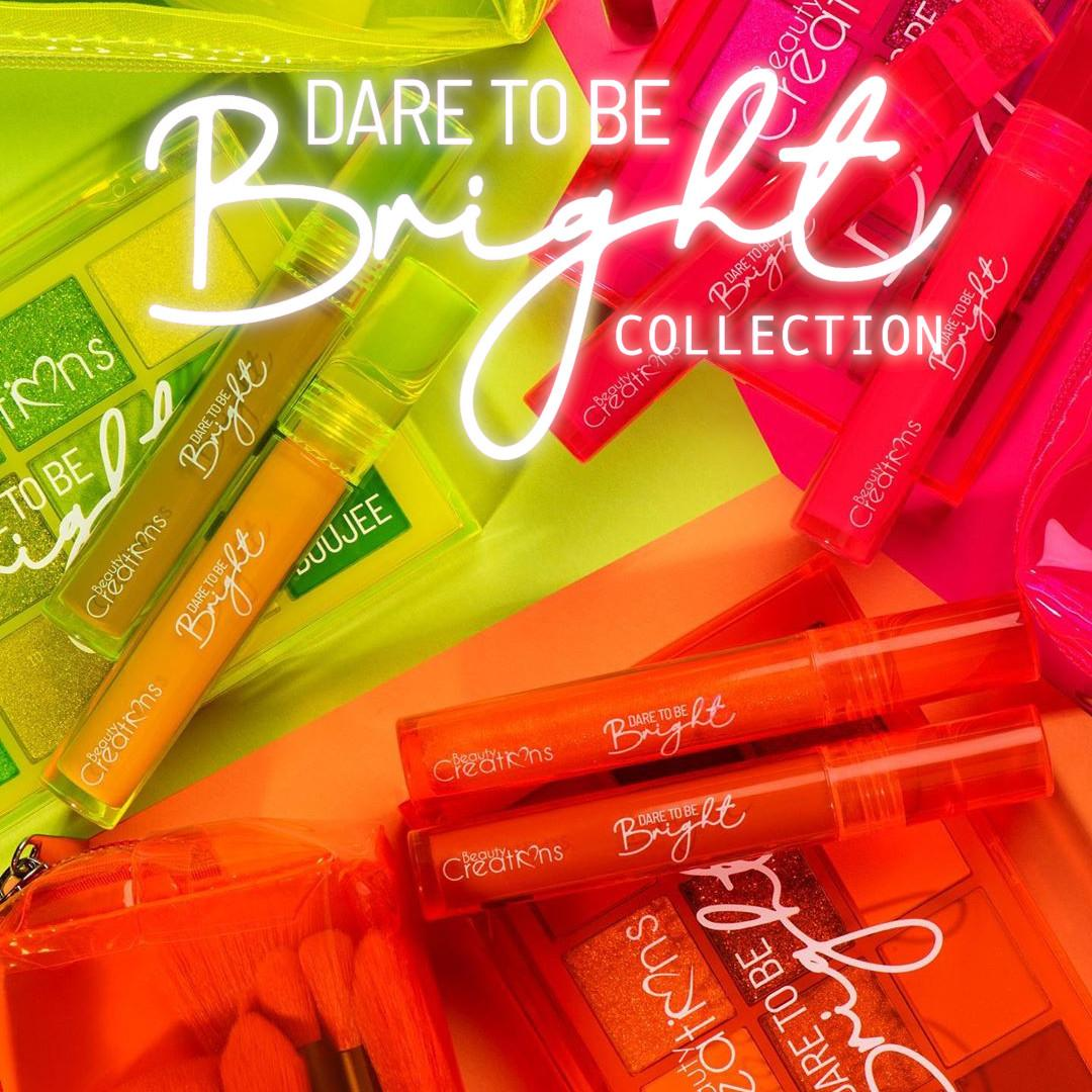 Beauty Creations Dare To Be Bright Collections Post Cover Named
