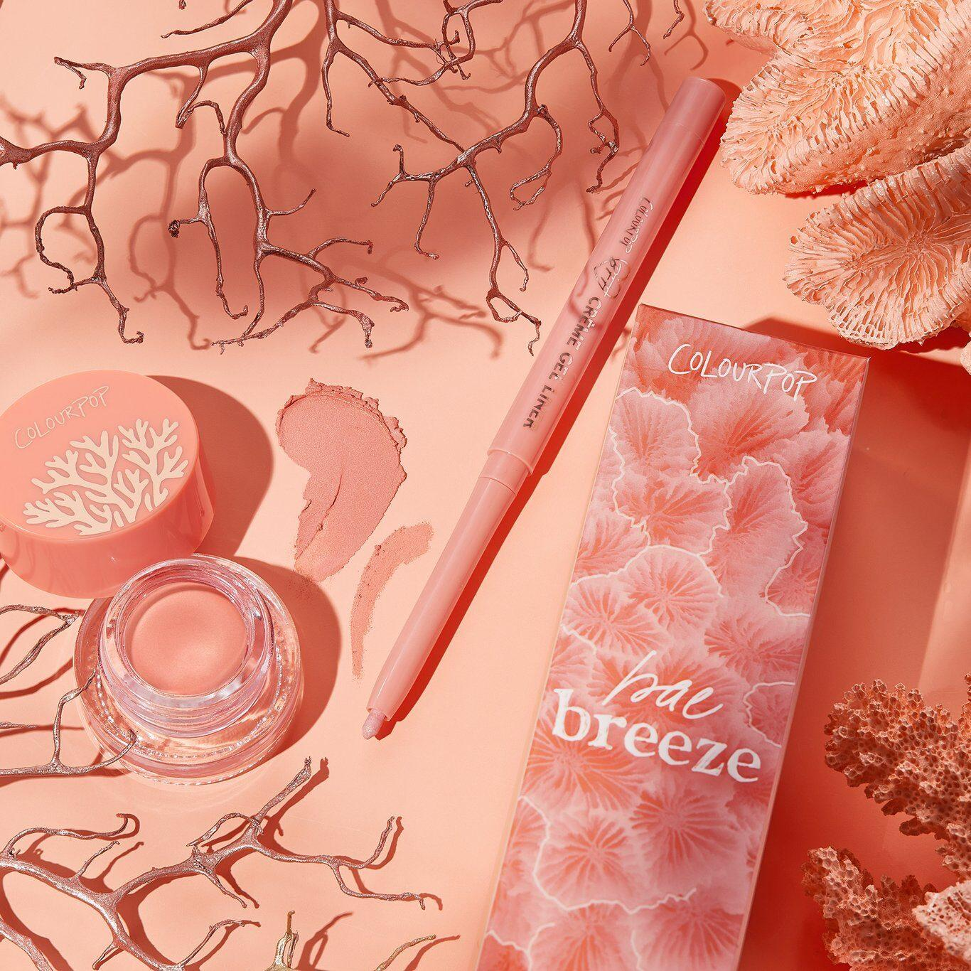 Colourpop Coast To Coral Collection Bae Breeze Duo Eyeliner Kit Promo