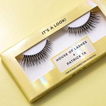 House of Lashes x Patrick Ta In It's a Look Promo