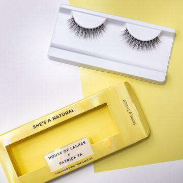 House of Lashes x Patrick Ta In She's a Natural Promo