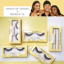 Colección House of Lashes X Patrick Ta