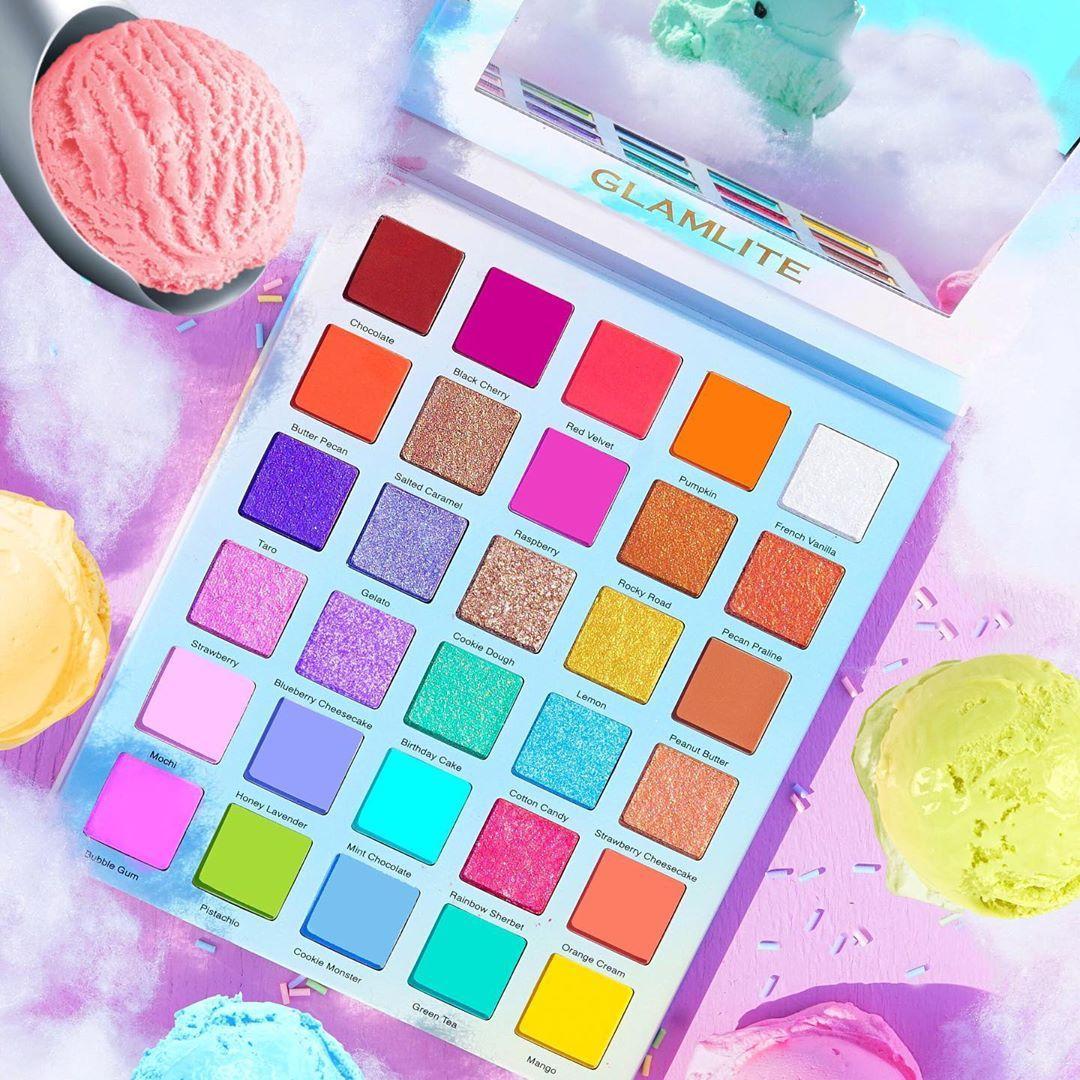 Ice Cream Dream Palette Open Promo