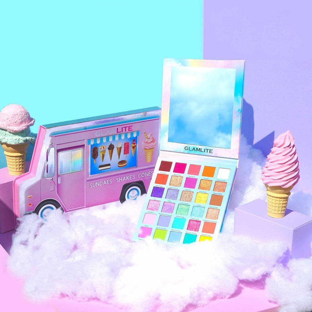 Ice Cream Dream Palette Truck PR Box Promo