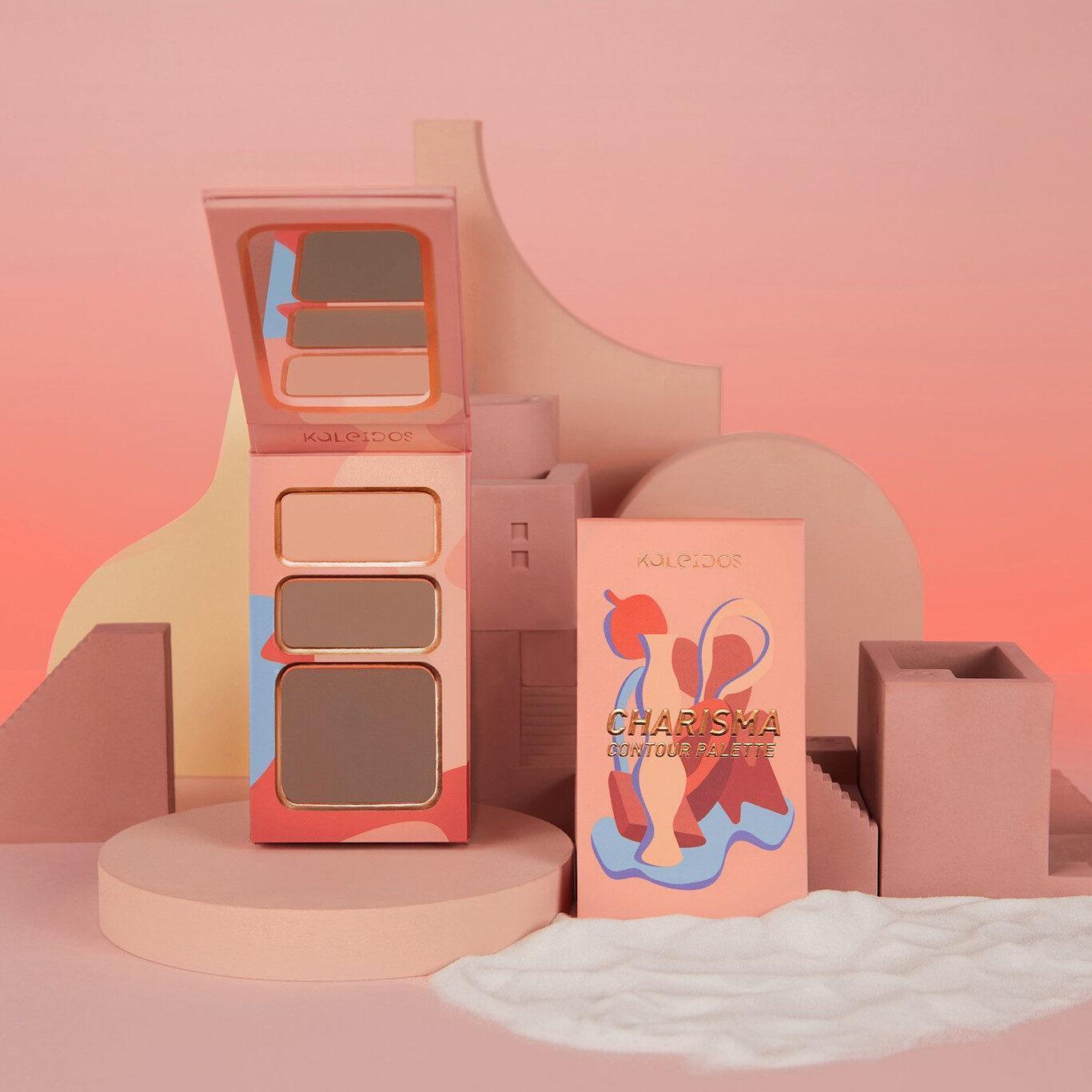 Kaleidos Makeup The Fresh Fantasy Collection Charisma Contour Cool and Light Promo